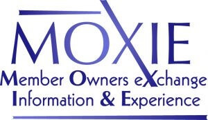 The logo for the Chamber's MOXIE program.