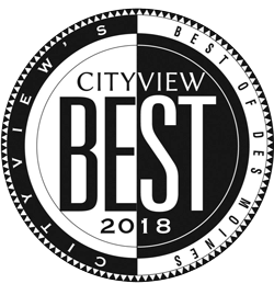 """The icon for the """"Best of"""" CityView 2018 Award."""