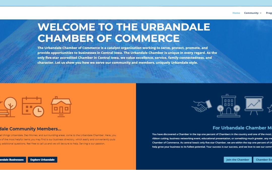 Urbandale Chamber launches new website