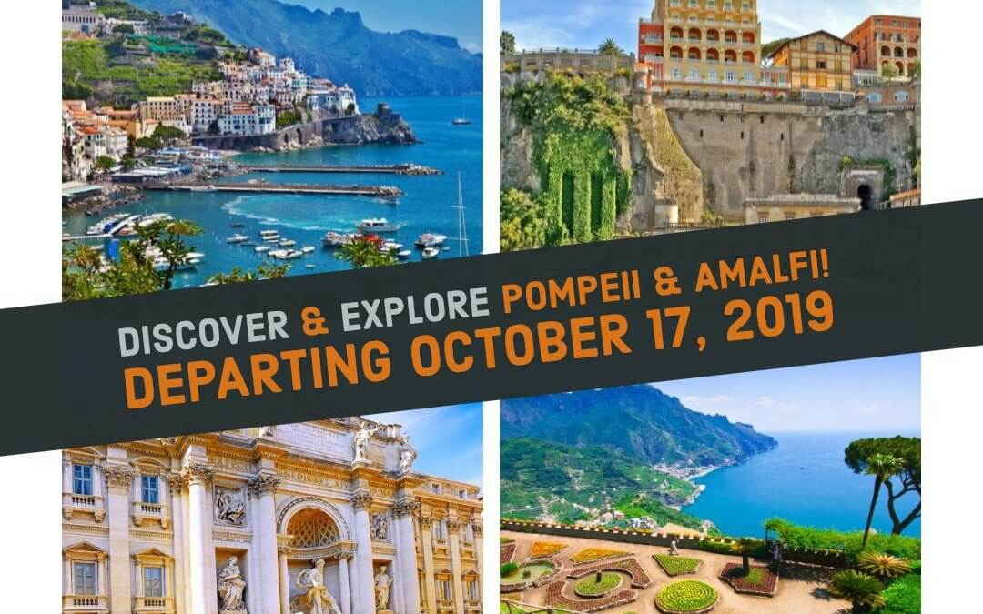 Discover & Explore Pompeii & Amalfi this fall