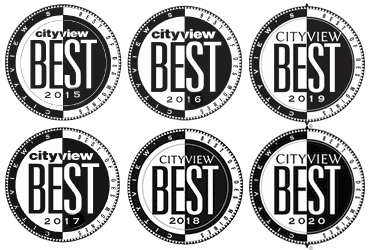 Cityview's best of Des Moines award logos